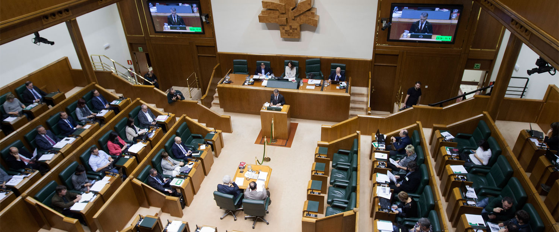 Imagen del Parlamento Vasco