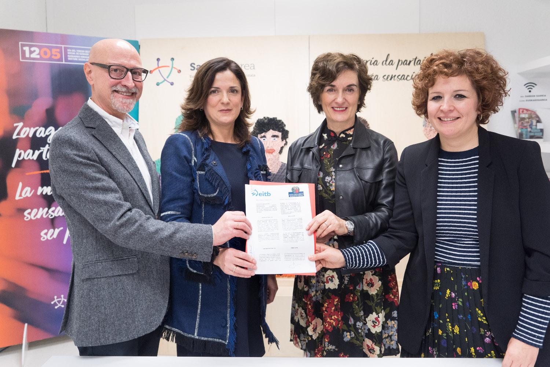 Acuerdo de colaboración para el Tercer Sector Social de Euskadi