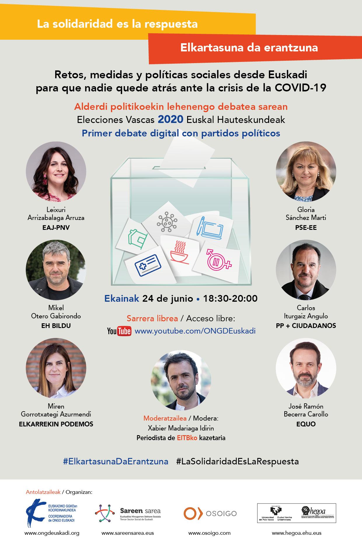Debate electoral media