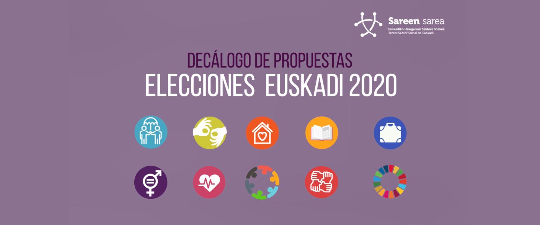 Decálogo de propuestas de Sareen Sarea para las elecciones