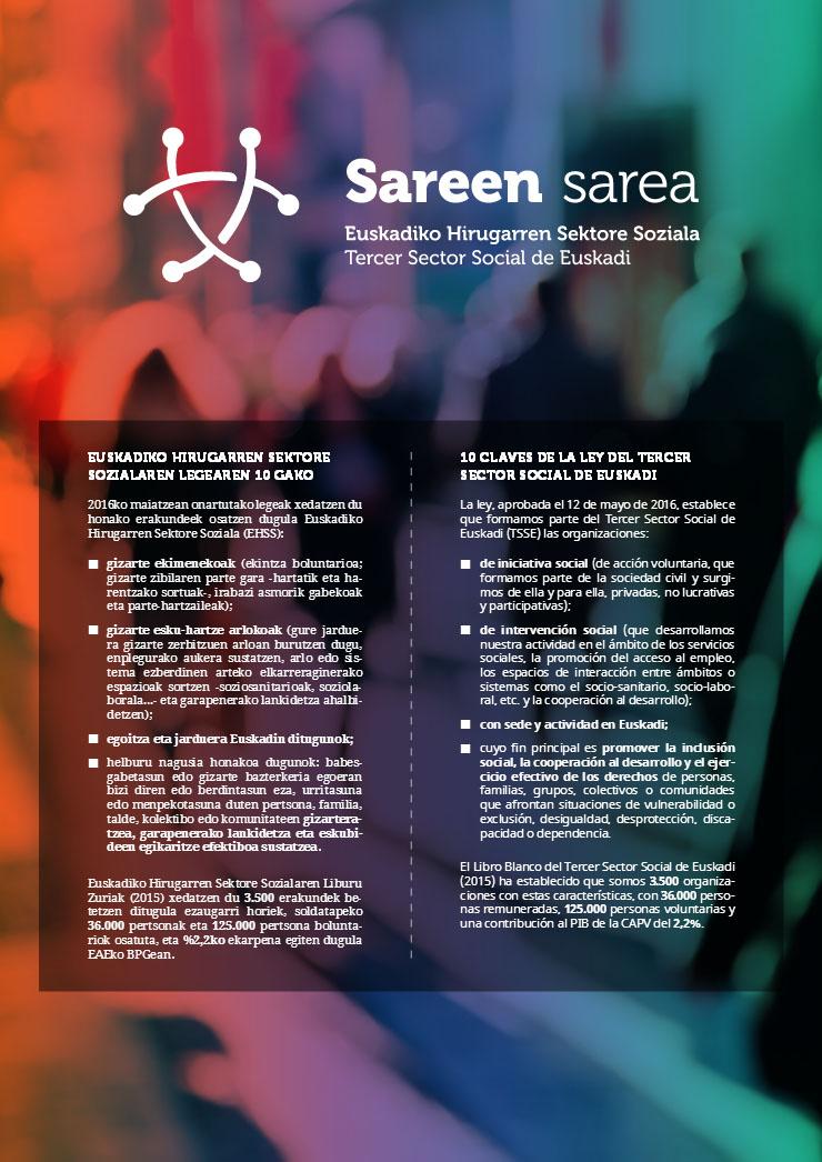Díptico 10 Claves Ley Tercer Sector Social de Euskadi 2017