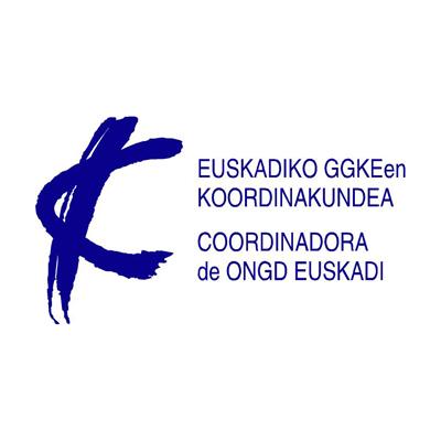 Logo Coordinadora de ONGD Euskadi