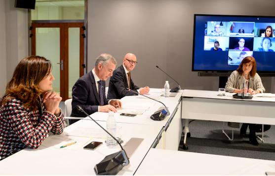 Mesa de Diálogo Civil de Euskadi del 12 de mayo 2020