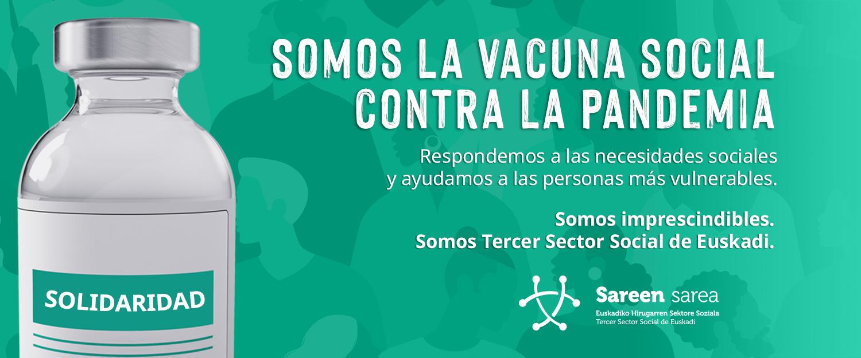 Campaña Sareen Sarea: Somos la vacuna social contra la pandemia