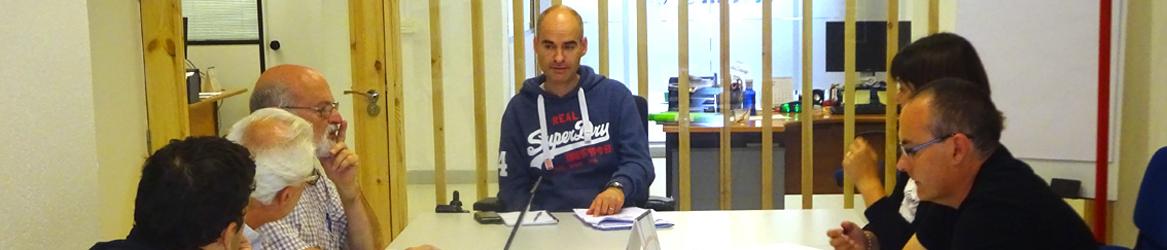 Imagen de una comisión de trabajo