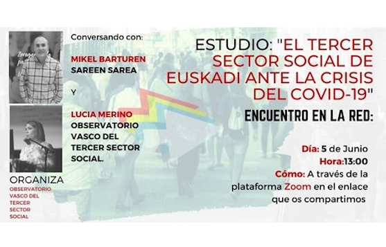 "Estudio: ""El Tercer Sector Social de Euskadi ante la crisis del Covid-19"""