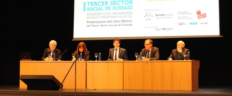 Imagen de la Jornada del Tercer Sector Social de Euskadi