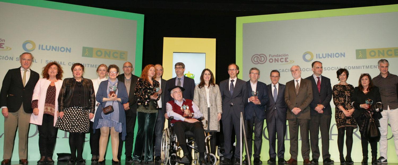 Premiados en la Edición ONCE Solidarios 2016
