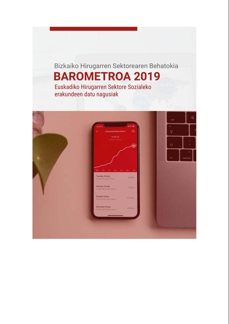 Euskadiko Hirugarren Sektore Sozialaren 2019ko barometroa