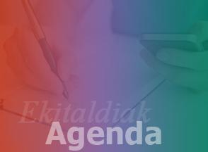 Ekitaldiak Agenda