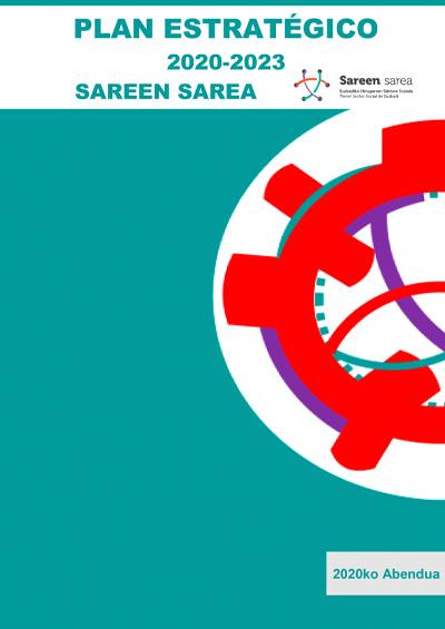 II Plan Estratégico de Sareen Sarea (2020-2023)